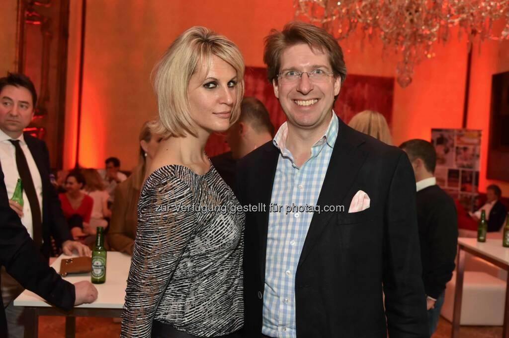 Yield-Agenturleiterin Heidi Schuller-Hrusa, Observer-Geschäftsführer Florian Laszlo, ©  leisure.at/Christian Jobst (15.04.2016)