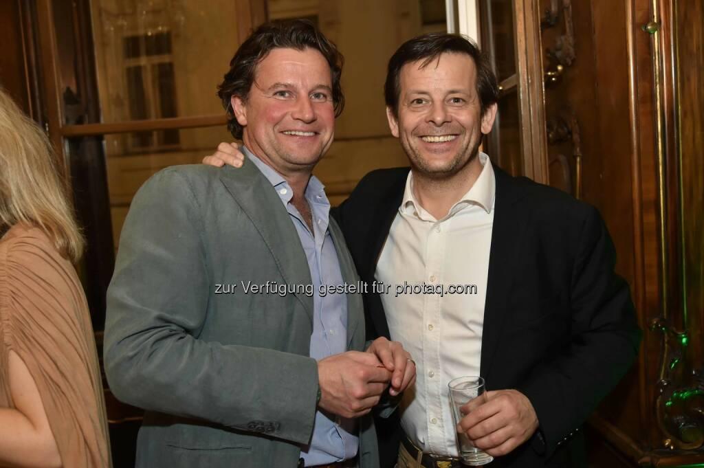 Unternehmer Alex Kränkl, Divison 4-Eigentümer Alexander Zoubek, ©  leisure.at/Christian Jobst (15.04.2016)