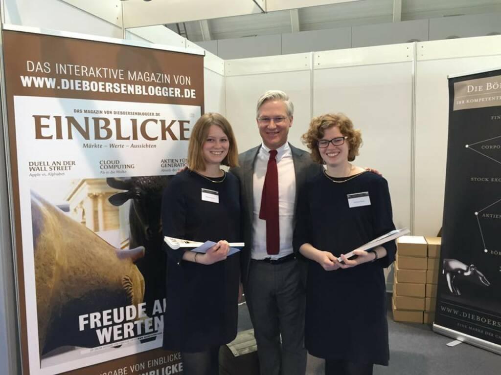 Markus Koch und die Einblicke-Damen (15.04.2016)