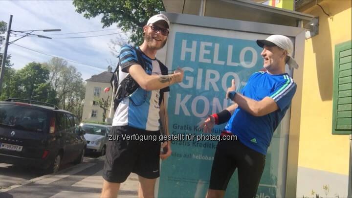 Tino Griesbach, Christian Drastil Hello bank!