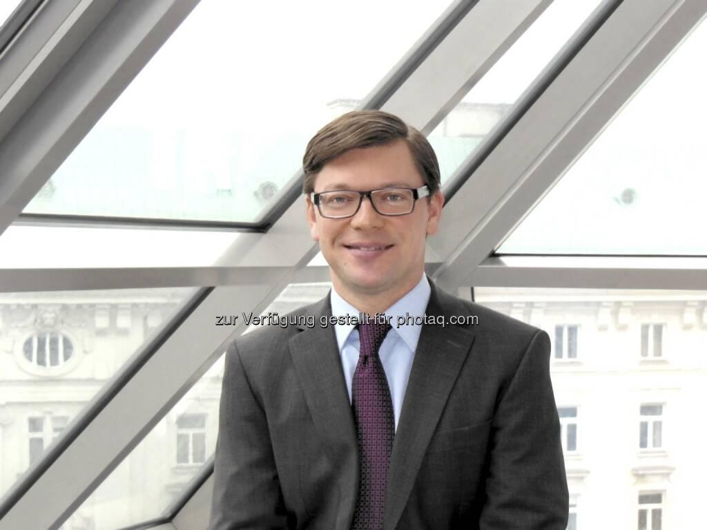 Martin Gratz (43), C-Quadrat: Gratz wird zum Leiter Rechnungswesen und Beteiligungscontrolling berufen. Er berichtet direkt an C-Quadrat Gründungs- und Vorstandsmitglied Alexander Schütz (c) C-Quadrat (11.04.2013)