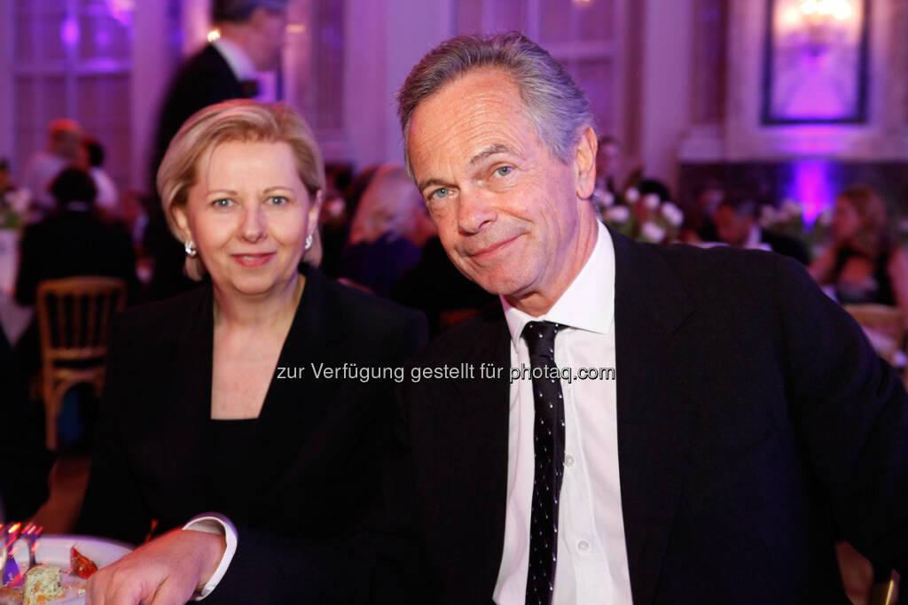 Brigitte Jank, Andreas Treichl - http://www.se-award.org, © se-award (12.04.2013)