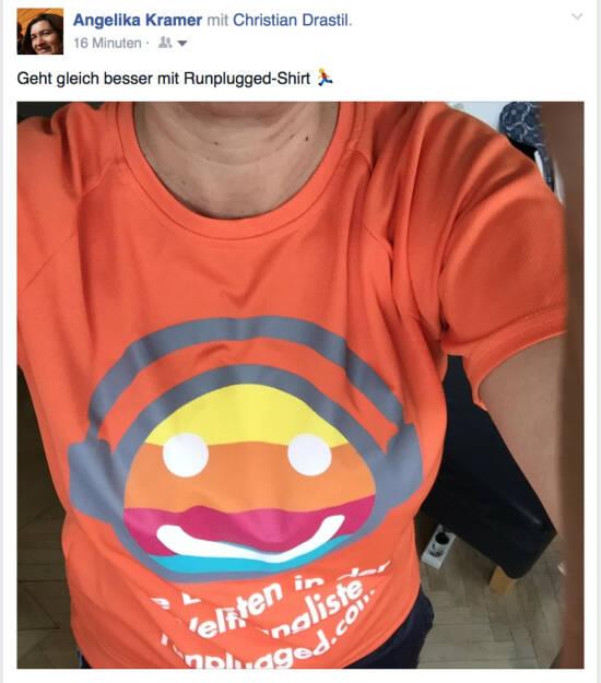 Finanzjournalistin Angelika Kramer hat die Lösung We Love Laufkundschaft (18.04.2016)