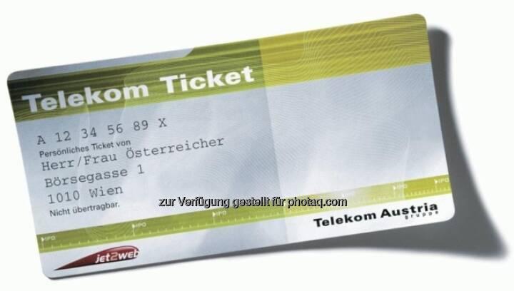 Telekom Austria IPO, das Ticket