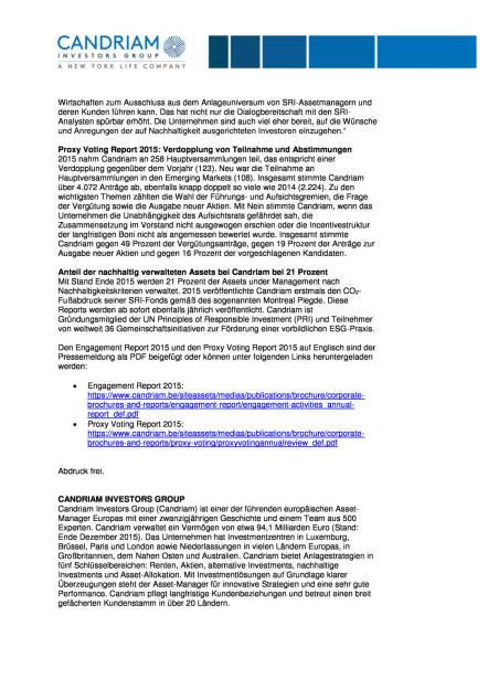"""Candriam: """"Dialog mit Unternehmen wird wichtiger"""", Seite 2/3, komplettes Dokument unter http://boerse-social.com/static/uploads/file_906_candriam_dialog_mit_unternehmen_wird_wichtiger.pdf (19.04.2016)"""