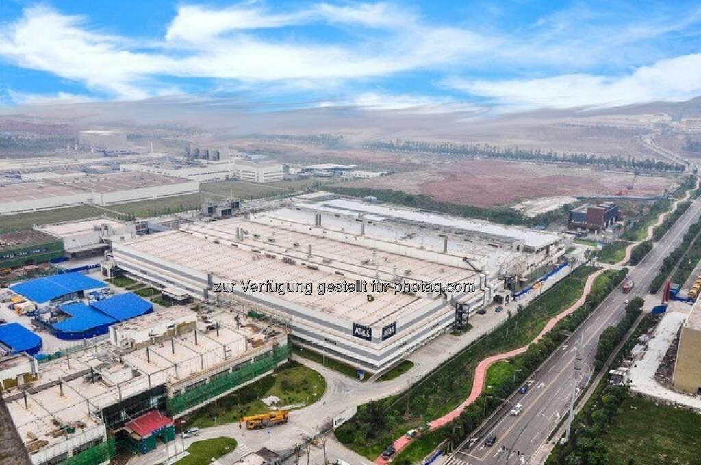 AT&S Werk Chongqing, Vogelperspektive, © AT&S Austria Technologie & Systemtechnik AG (21.04.2016)
