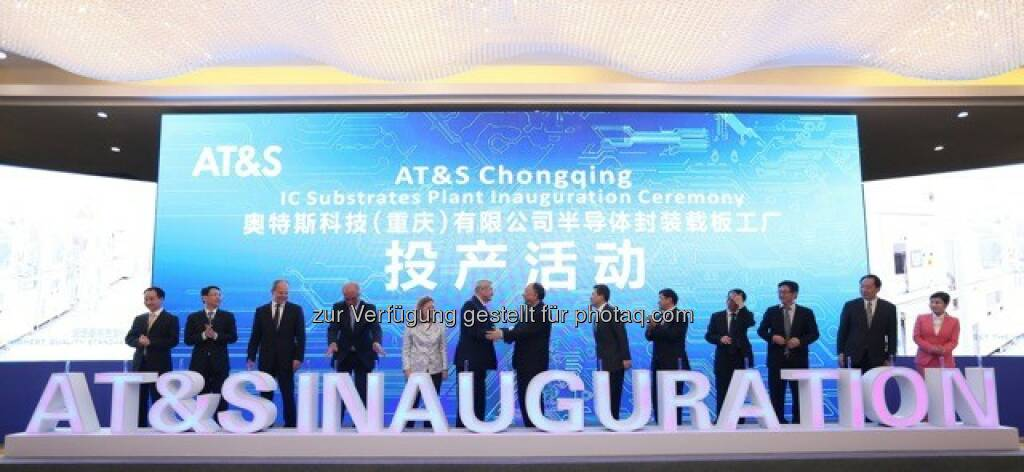 Offizielle Eröffnung AT&S, © AT&S Austria Technologie & Systemtechnik AG (21.04.2016)
