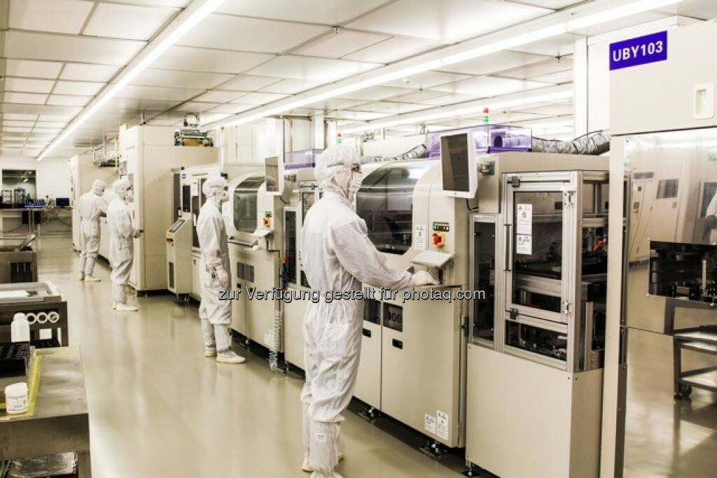 Produktionshalle AT&S, © AT&S Austria Technologie & Systemtechnik AG (21.04.2016)