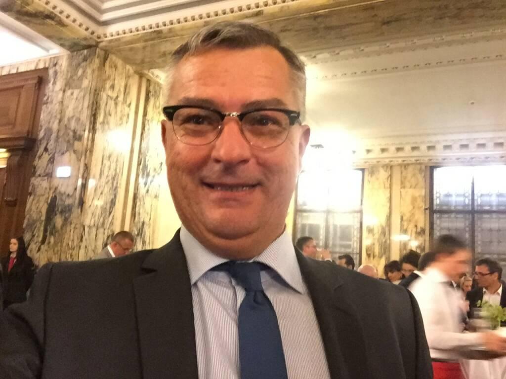 Christian Slovinec Selfie, Erste Group (22.04.2016)