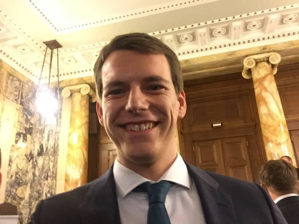 Patrick Auer Selfie, Erste Group (22.04.2016)