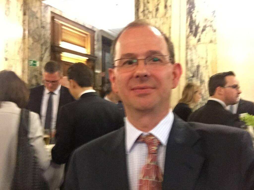 Alexander Patka Selfie, WIener Privatbank (22.04.2016)