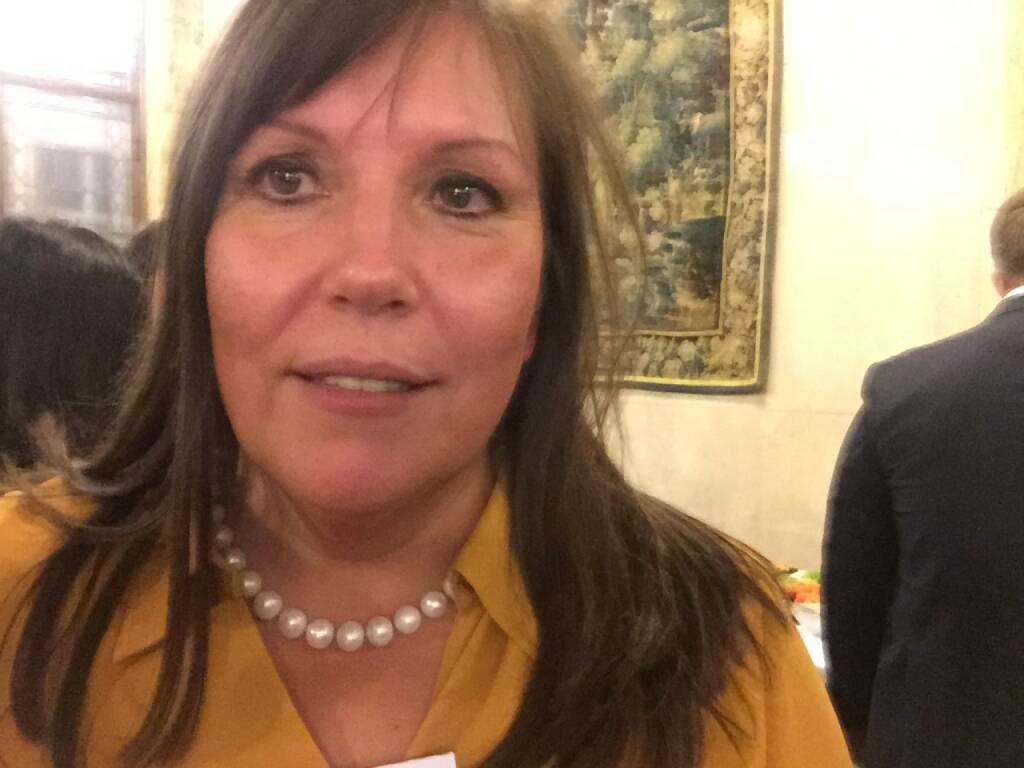 Doris Sykora Selfie, Erste Group (22.04.2016)