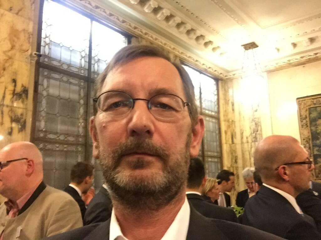 Thomas Friedl Selfie, Erste Group (22.04.2016)