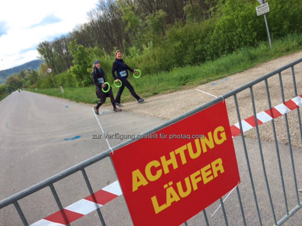 Achtung Läufer, 2 Städte Lauf (24.04.2016)