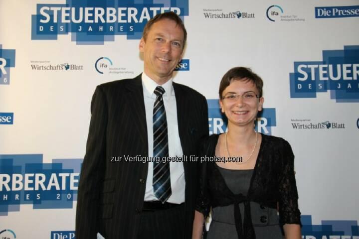 Manfred Leitinger, Sonja Eder : Steuerberater des Jahres 2016 : Prodinger Leitinger & Partner : Fotocredit: Prodinger Partner