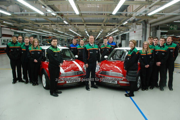 MINI Werk Oxford  : MINI feiert 15 Jahre Premium-Fahrspaß, made in Oxford : © BMW Group