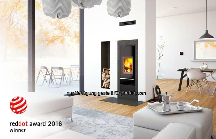 Schiedel Kingfire Lineare : Oberösterreichisches Traditionsunternehmen Schiedel : Red Dot Award und Plus X Award für innovatives Ofensystem Kingfire® : Fotocredit: Schiedel GmbH