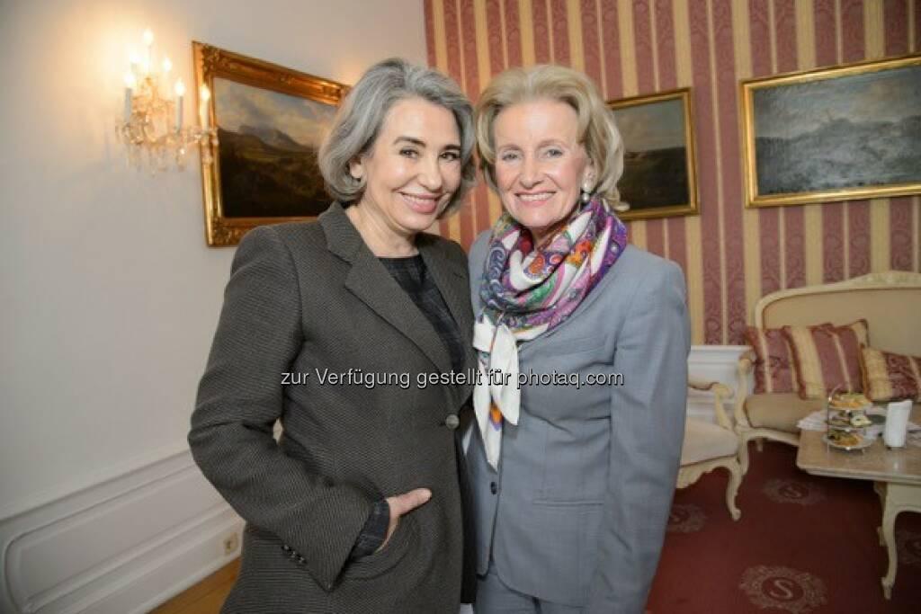 Brigitte Karner, Elisabeth Gürtler, Fête Impériale 2016, © RGE Media Production für Spanische Hofreitschule (28.04.2016)