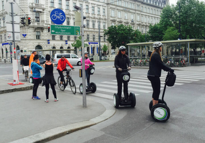 Verkehrsvielfalt in Wien