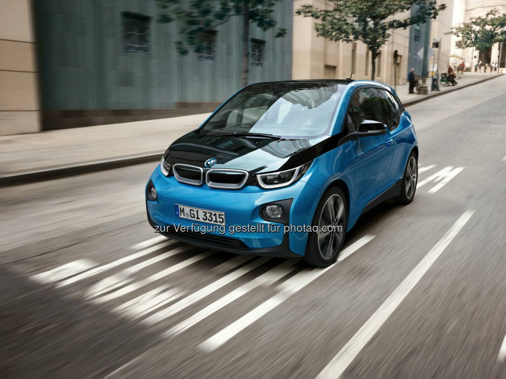 BMW i3 : Mehr Reichweite, hohe Fahrdynamik: BMW i weitet das Modellangebot für den BMW i3 aus : Fotocredit: obs/BMW Group/c quadrat photography, © Aussendung (02.05.2016)