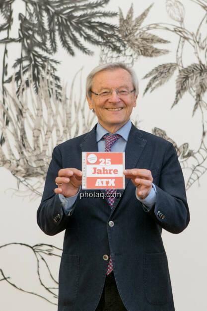Wolfgang Schüssel 25 Jahre ATX, © Martina Draper/photaq (02.05.2016)