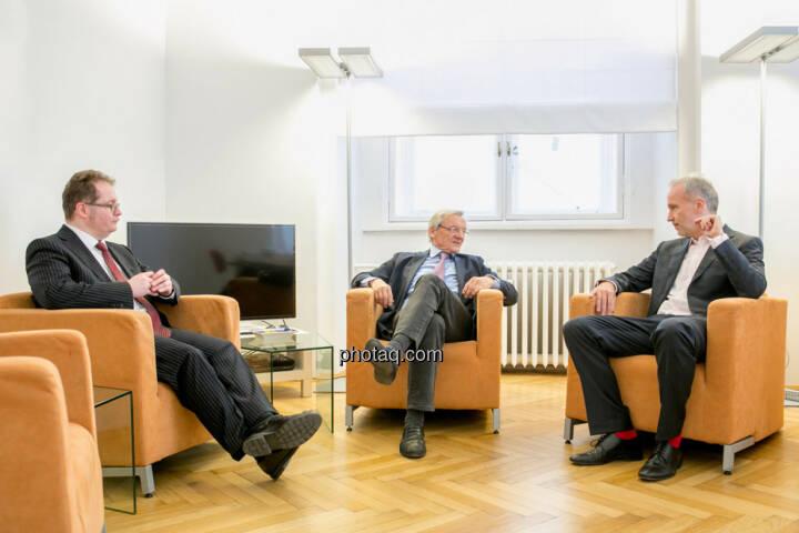 Talk: Gregor Rosinger (Rosinger Group), Wolfgang Schüssel, Christian Drastil (BSN)