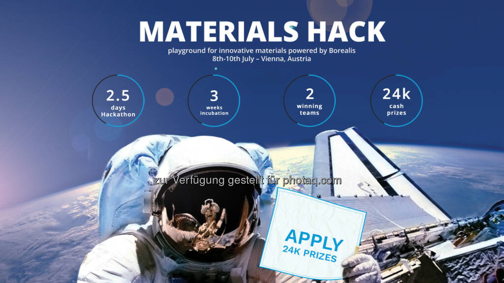 Materials Hack 2016 : Europas größter Hackathon für Materialien 2016 in Wien: Borealis & StartUs rufen zur Teilnahme auf : Fotocredit: StartUs (03.05.2016)