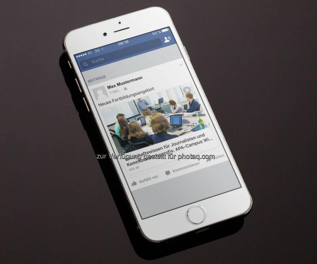 Verbreitungsdienst APA-OTS setzt auf Distributed Content : Seit April 2016 sind Inhalte auf ausgewählten Kanälen von APA-OTS als Facebook Instant Articles sowie als Accelerated Mobile Pages (AMP) verfügbar : Fotocredit: APA-OTS, © Aussender (04.05.2016)