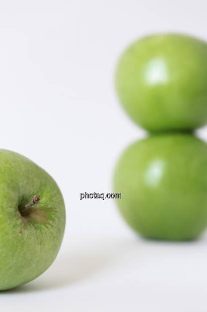 Äpfel, 3 grüne Äpfel, © Martina Draper (14.04.2013)