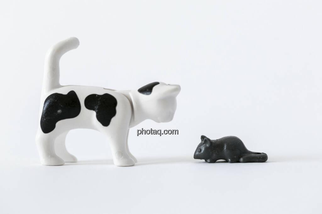 Katz und Maus, Katze, Maus, Playmobil, © Martina Draper (14.04.2013)