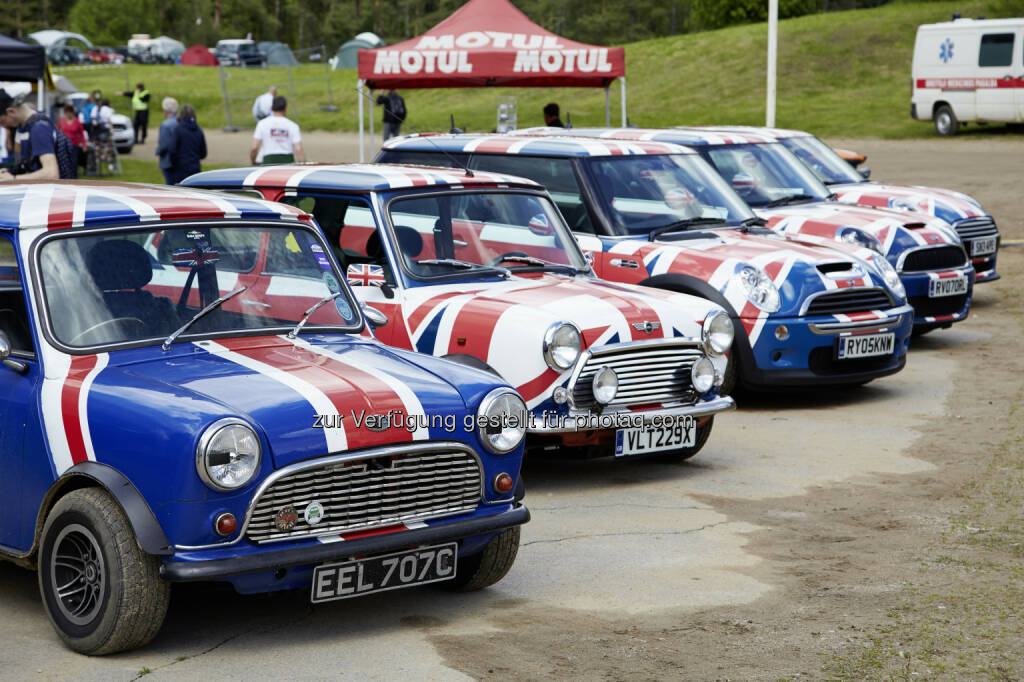 "International Mini Meeting : Zum 38. Mal findet das ""International Mini Meeting""  statt - 2016 in Lommel in Belgien : © BMW Group (05.05.2016)"