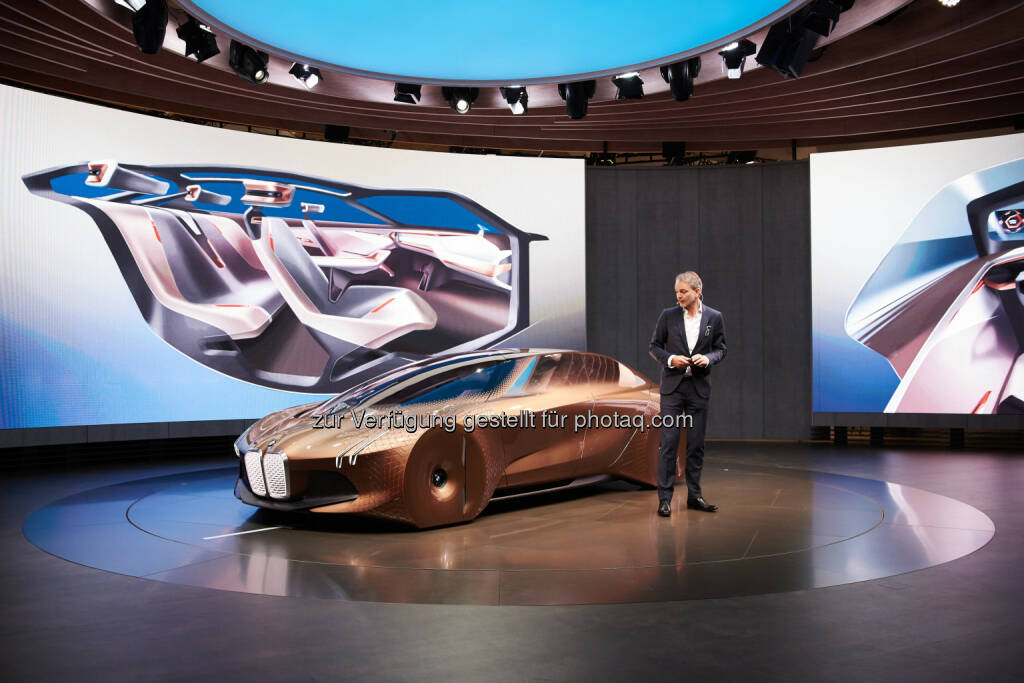 Adrian van Hooydonk, Senior Vice President BMW Group Design : The Next 100 Years : Die BMW Group macht Zukunft der Mobilität weltweit erlebbar : Pressekonferenz am 5. Mai 2016 in Peking, Ullens Center for Contemporary Art : © BMW Group, © Aussendung (06.05.2016)