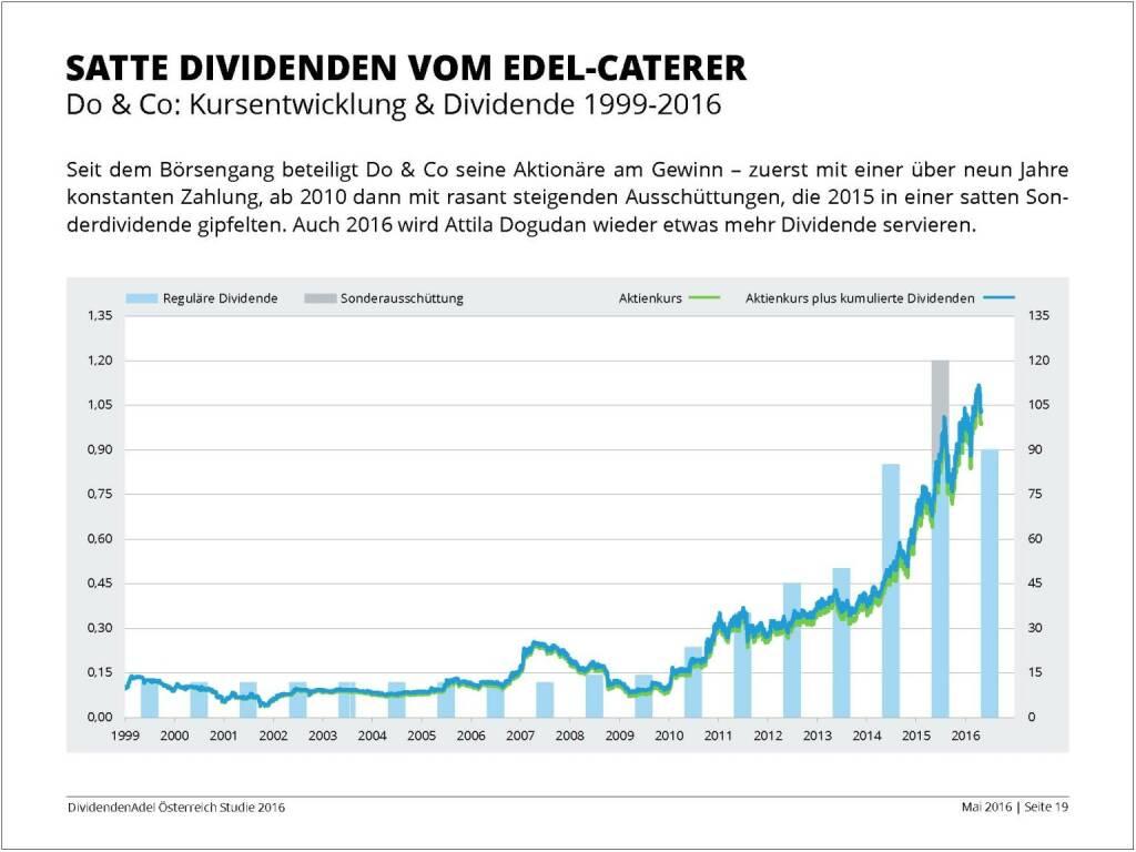 Dividendenstudie - Satte Dividenden vom Edel-Caterer, © BSN/Dividendenadel.de (06.05.2016)