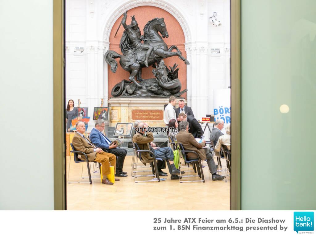 1. BSN Finanzmarkttag, © Martina Draper/photaq (07.05.2016)