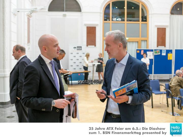 Paul Schiefer (Euram Bank), Christian Drastil (BSN)