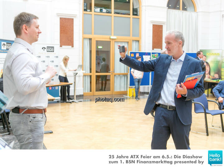 Thomas Böttcher (B2MS GmbH), Christian Drastil (BSN)