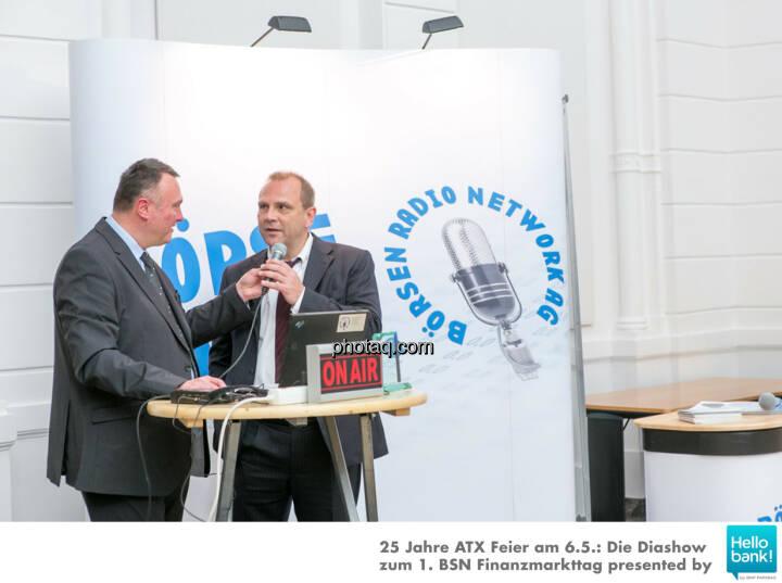 Peter Heinrich (BRN), Michael Laufenberg (Oddo Seydler)  für http://www.boersenradio.at