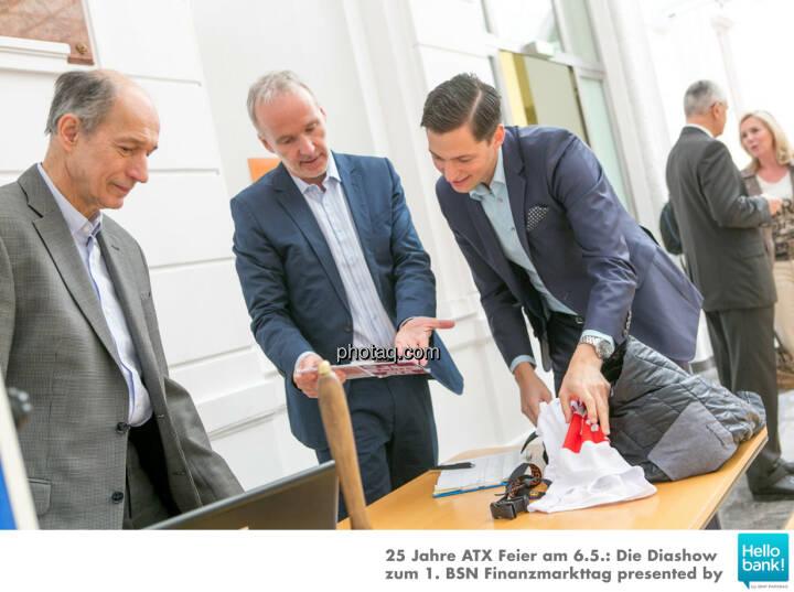 Ludwig Hartweger, Christian Drastil, Dominik Hojas