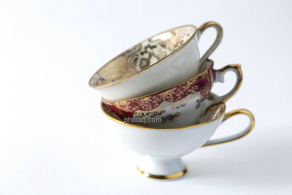 Nicht alle Tassen im Schrank, 3 Kaffeetassen, gestapelt, © Martina Draper (14.04.2013)