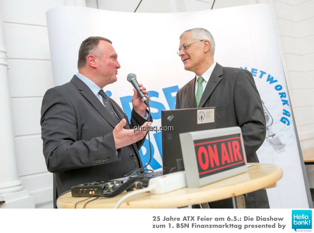 Peter Heinrich Michael Buhl  für http://www.boersenradio.at, © Martina Draper/photaq (07.05.2016)