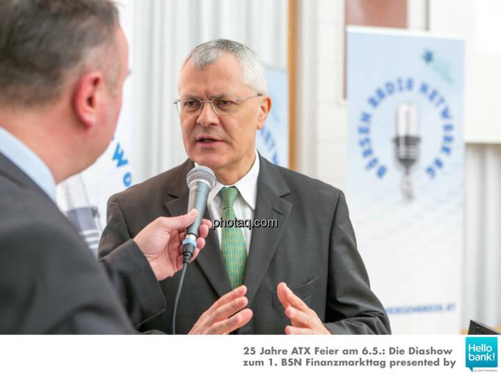 Peter Heinrich Michael Buhl  für http://www.boersenradio.at