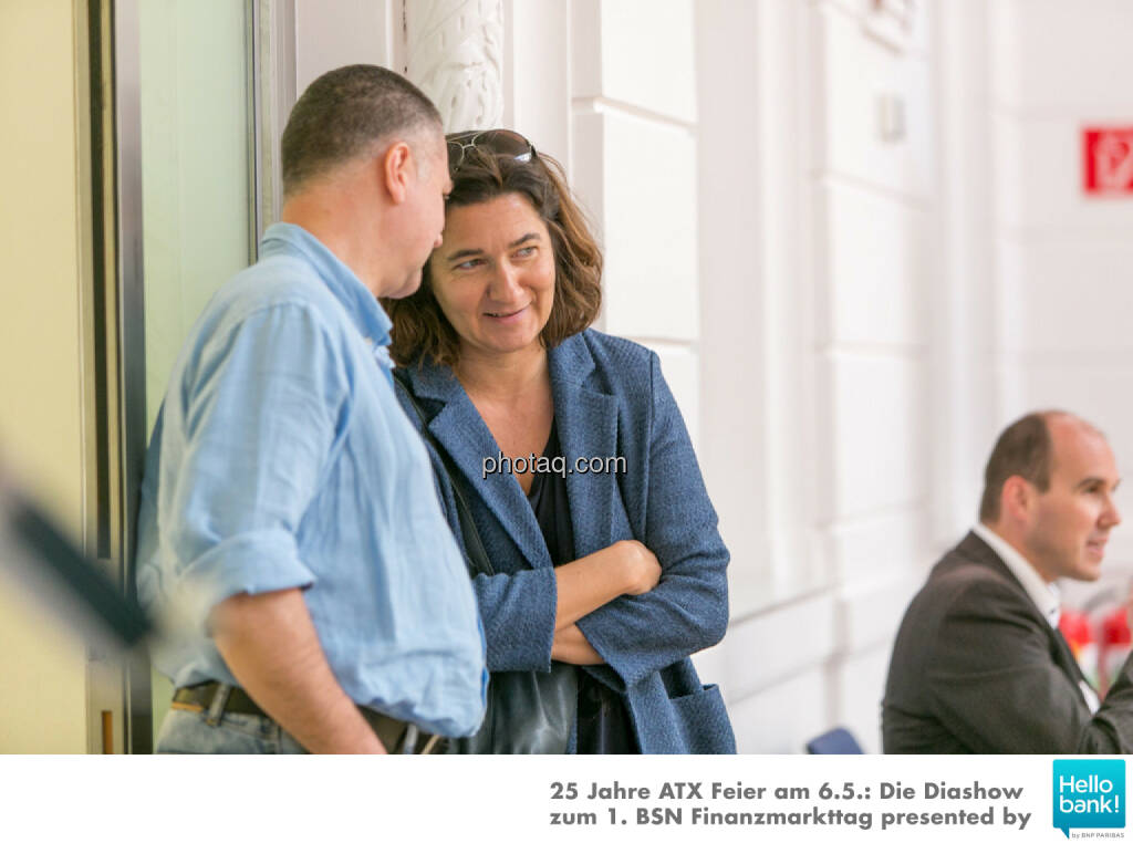 Wolfgang Aubrunner, Angelika Kramer, © Martina Draper/photaq (07.05.2016)