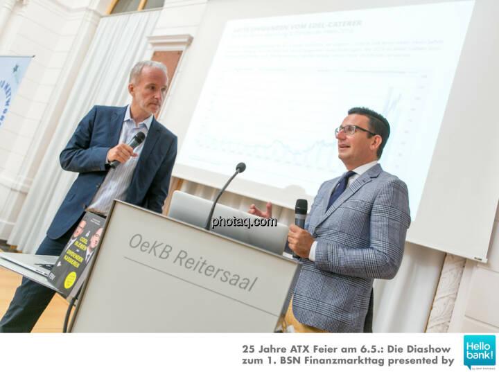 Christian Drastil, Christian Röhl stellen http://www.photaq.com/page/index/2505 presented by 3Banken Generali KAG vor