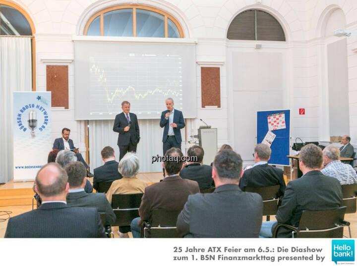 Hans Weitmayr, Eduard Zehetner, Christian Drastil für die Dr. Eduard Zehetner Chart Challenge http://www.photaq.com/page/index/2503