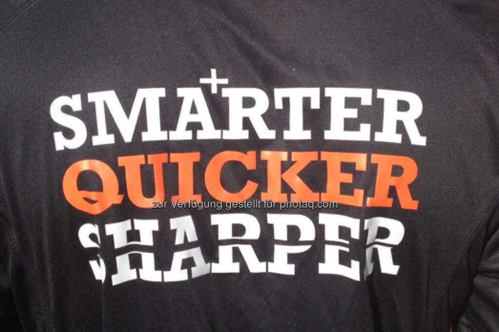 Smarter Quicker Sharper beim Vienna Marathon 2013 (14.04.2013)