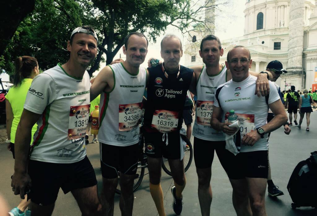 Andreas Schweighofer, Thomas Pundy, Christian Drastil, Harald Radatz, Reinhard Spiesberger (08.05.2016)