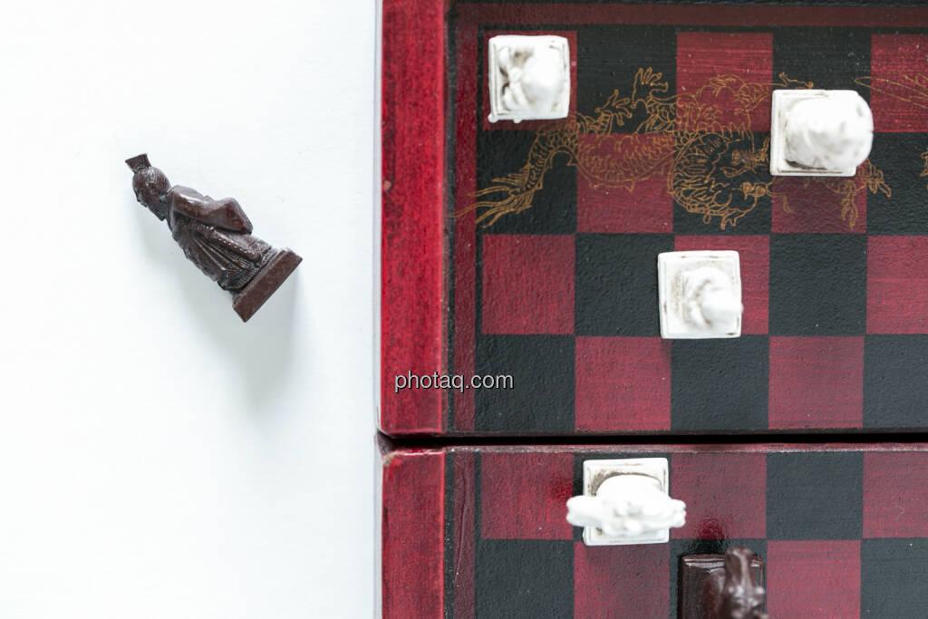 Schachmatt, Schachbrett, Schachfiguren, © Martina Draper (14.04.2013)