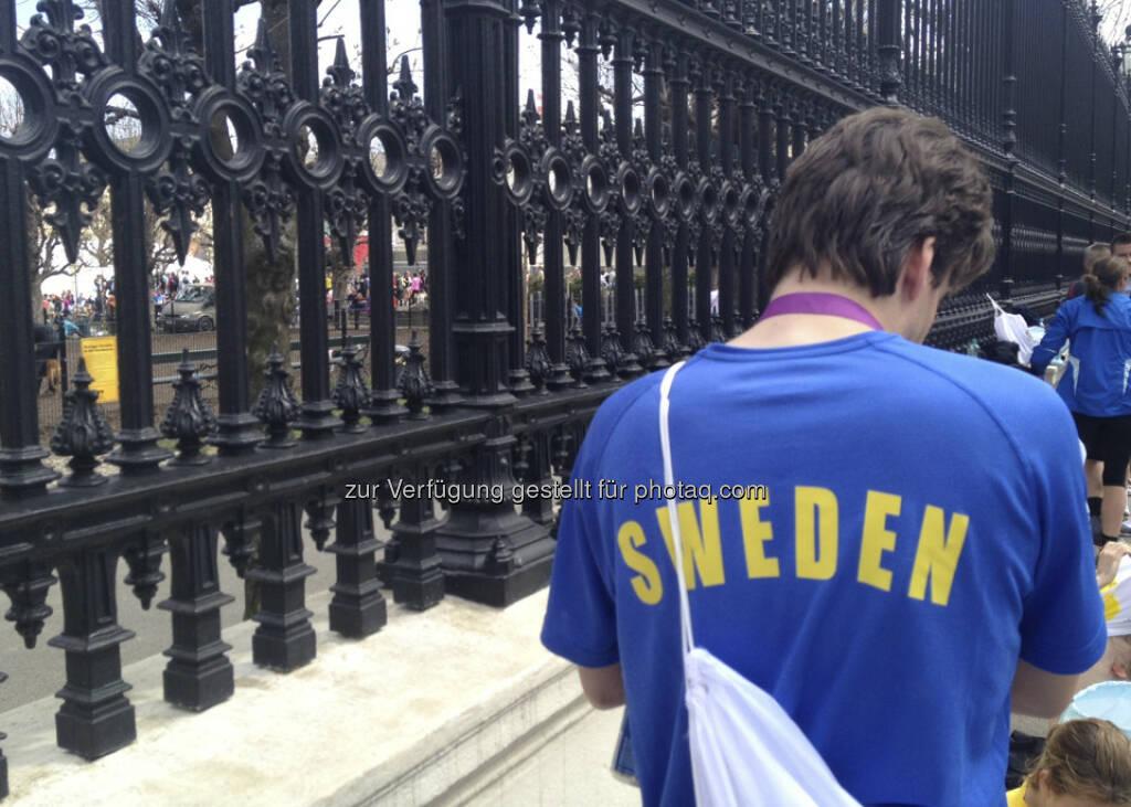 Vienna City Marathon 2013: Schweden (14.04.2013)