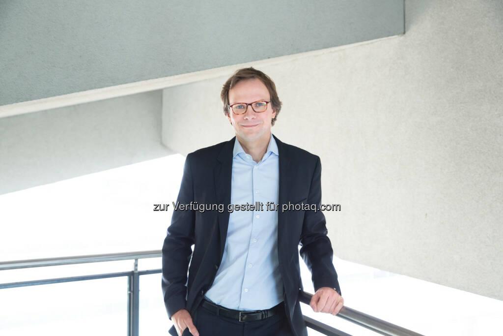 Andreas Bierwirth, CEO T-Mobile Austria : Ende des Jahres LTE-Vollversorgung in Österreich : Fotocredit: T-Mobile/König, © Aussender (09.05.2016)