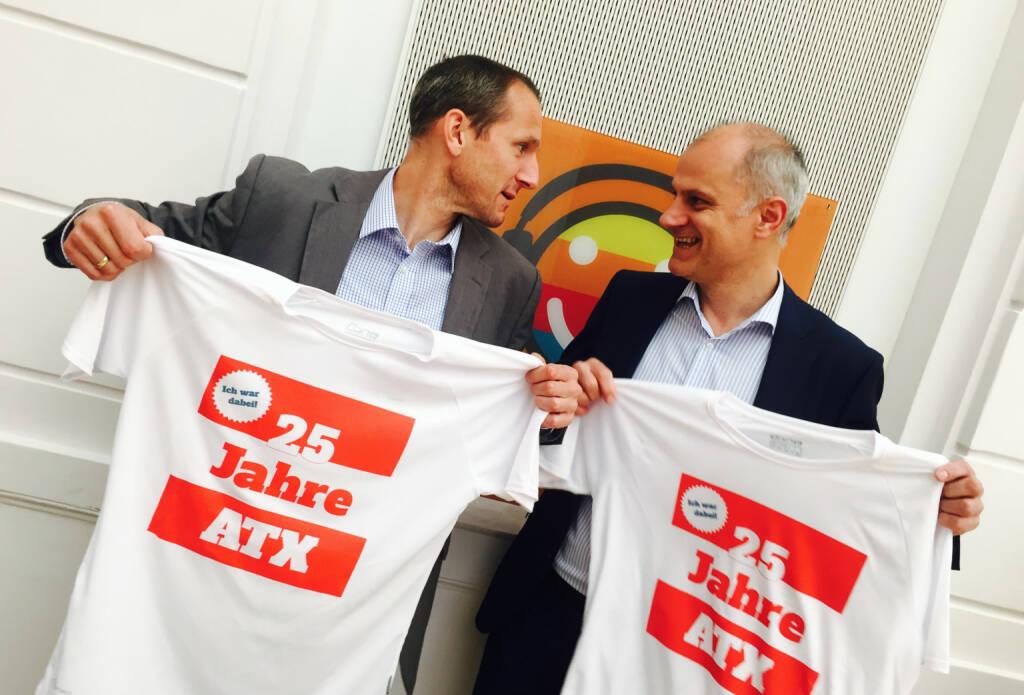 25 Jahre ATX - Stefan Dörfler, Karl Altrichter (09.05.2016)